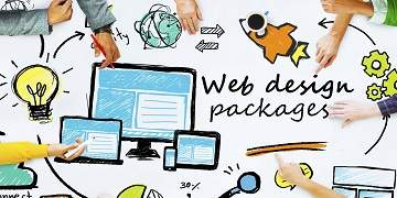 We provide a web design packege started with just 2999/- , A premium theme and one year hosting free with one .in domain - Logic Web Services